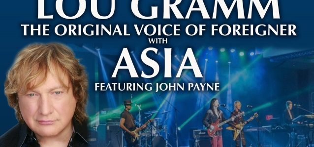 LOU GRAMM Performs FOREIGNER Classics With ASIA FEATURING JOHN PAYNE In Collingswood, New Jersey (Video)
