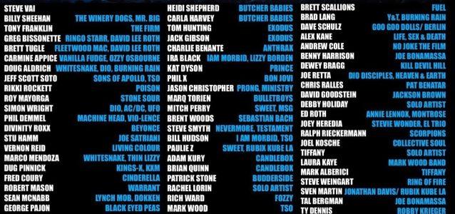 STEVE VAI, BILLY SHEEHAN, RIKKI ROCKETT, DOUG ALDRICH, Others To Perform At 2019 'Ultimate NAMM Night'