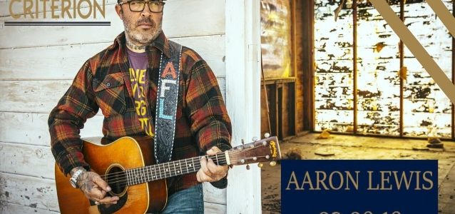 AARON LEWIS Cuts Another Concert Short After Telling Crowd 'Shut The F**k Up Or I'm Done' (Video)