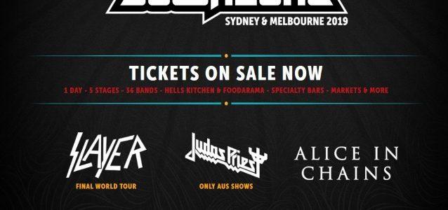 Watch JUDAS PRIEST Perform At DOWNLOAD Festival In Sydney, Australia