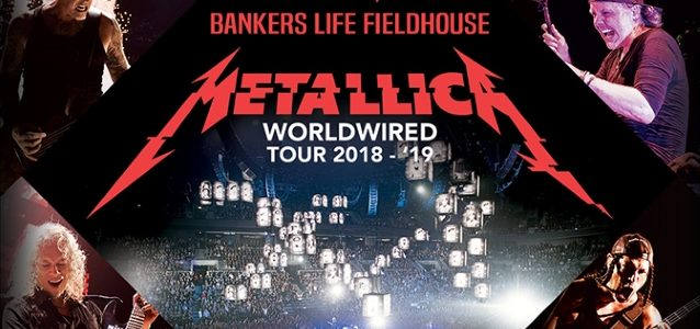 METALLICA Sets Attendance Record At Indianapolis's Bankers Life Fieldhouse