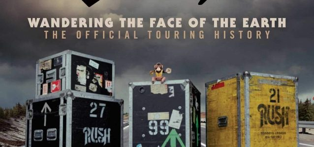 RUSH: 'Wandering The Face Of The Earth: The Official Touring History' Book Due In October