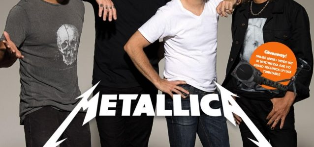 KIRK HAMMETT: 'I Have A Ton Of Material' For METALLICA's Next Album