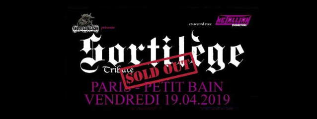 Classic French Heavy Metal Band SORTILÈGE Reunites For Special Paris Tribute Concert