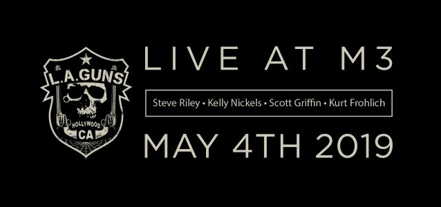 STEVE RILEY Recruits KURT FROHLICH To Front His Version Of L.A. GUNS At M3 ROCK FESTIVAL