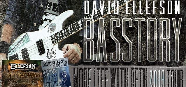 MEGADETH's DAVID ELLEFSON Announces First Dates Of Summer 2019 'Basstory' Tour