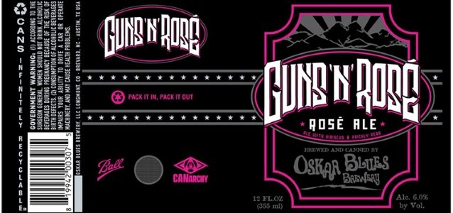 GUNS N' ROSES Sues Colorado Brewery Over 'Guns 'N' Rosé' Beer