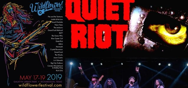 QUIET RIOT Performs Without Drummer FRANKIE BANALI At Texas Festival (Video)