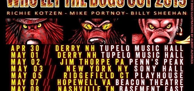 THE WINERY DOGS Kick Off First Tour In Nearly Three Years (Video)