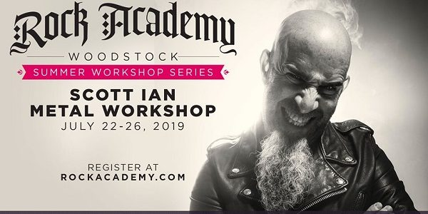 ANTHRAX's SCOTT IAN To Host 'Metal Workshop' At Rock Academy In Woodstock