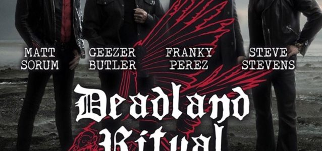 DEADLAND RITUAL Feat. GEEZER BUTLER, MATT SORUM, STEVE STEVENS: Video Of London Concert