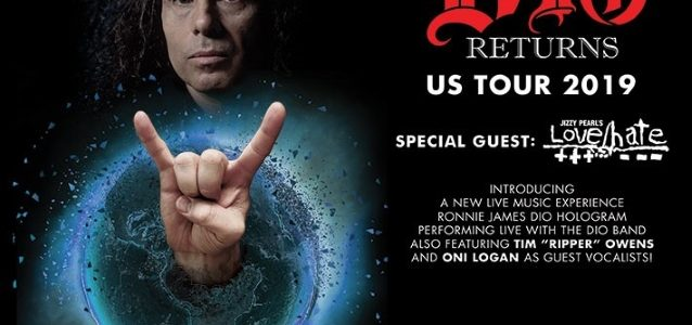 RONNIE JAMES DIO's Hologram Hits Glenside During 'Dio Returns' Tour (Video)