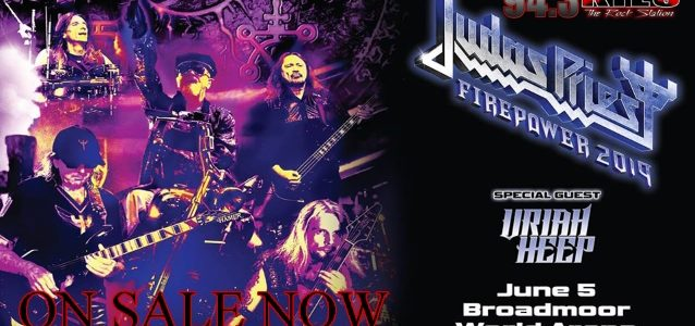 JUDAS PRIEST's ROB HALFORD Is Fighting Bronchitis: Colorado Springs Concert Canceled