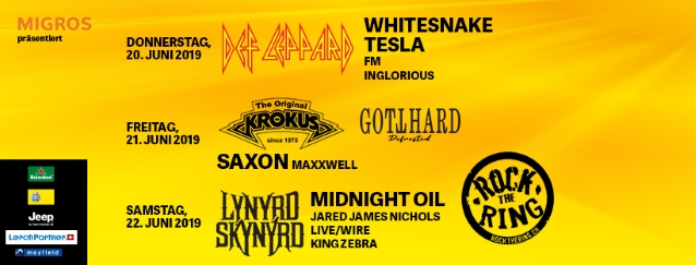 Watch KROKUS Perform At Switzerland's ROCK THE RING Festival