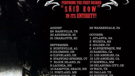 SEBASTIAN BACH Issues Open Invitation To SKID ROW's Original Members To Join Him On Upcoming Tour