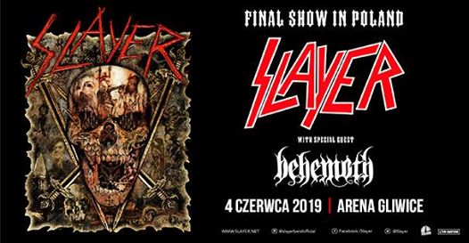 SLAYER Joined By BEHEMOTH's NERGAL For 'Evil Has No Boundaries' Performance In Poland (Video)