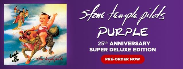 STONE TEMPLE PILOTS Announce 'Purple' Super Deluxe Edition