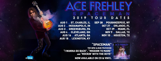 Watch ACE FREHLEY Perform In Atlanta