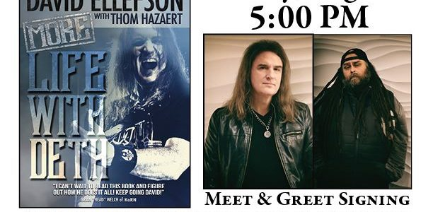 Watch DAVID ELLEFSON Perform With MEGADETH Tribute Band WOKE UP DEAD