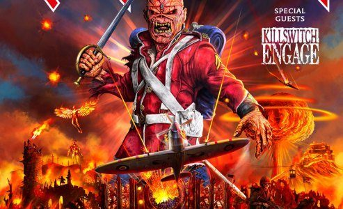IRON MAIDEN Announces May 2020 Australian Tour With KILLSWITCH ENGAGE