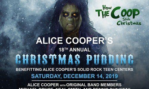 ROB HALFORD, JOE BONAMASSA, EXTREME, NITA STRAUSS Perform At ALICE COOPER's 18th Annual 'Christmas Pudding' (Video)