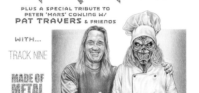 IRON MAIDEN's NICKO MCBRAIN: Drum-Cam Video Of Rock N Roll Ribs 10th-Anniversary Performance
