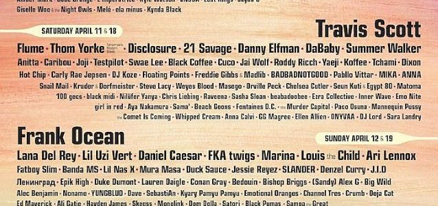 RAGE AGAINST THE MACHINE Officially Confirmed For COACHELLA VALLEY MUSIC AND ARTS FESTIVAL