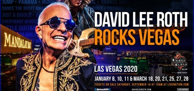 Watch DAVID LEE ROTH's Entire Second Las Vegas Concert