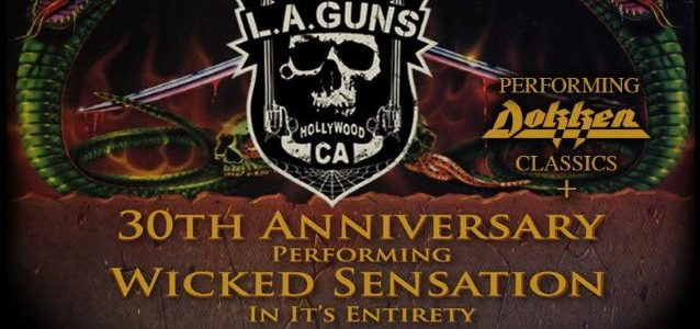 LYNCH MOB Featuring GEORGE LYNCH And ONI LOGAN To Embark On 'Wicked Sensation' 30th-Anniversary Tour