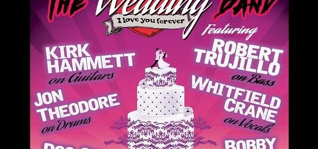 METALLICA's KIRK HAMMETT And ROBERT TRUJILLO To Perform With THE WEDDING BAND In Columbia, South Carolina