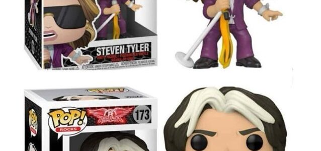 AEROSMITH's STEVEN TYLER And JOE PERRY: 'Pop! Rocks' Figures From FUNKO Coming Soon