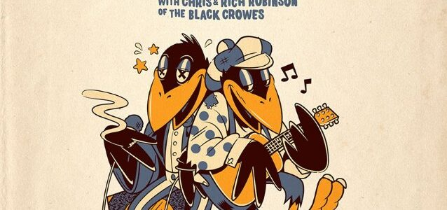 THE BLACK CROWES' CHRIS And RICH ROBINSON Announce BROTHERS OF A FEATHER Acoustic Tour