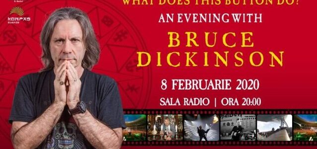 IRON MAIDEN's BRUCE DICKINSON: 'We're Never Going To F**king Retire'