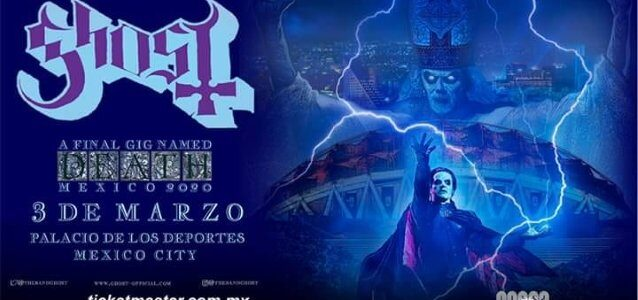 GHOST Introduces PAPA EMERITUS IV At Final Concert Of 'Prequelle' Album Cycle: Video, Photos