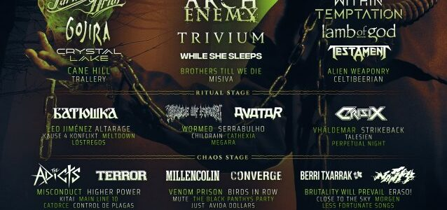 Watch Pro-Shot Video Of LAMB OF GOD's Entire Performance At Last Year's RESURRECTION FEST