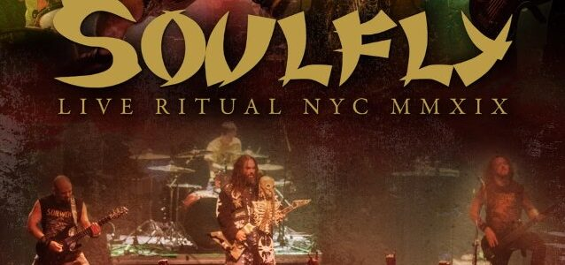 SOULFLY Releases Live Video For 'Under Rapture' From 'Live Ritual NYC MMXIX' EP