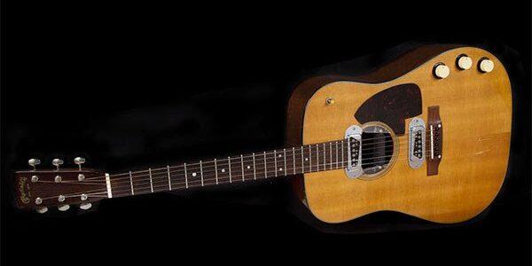 KURT COBAIN's 'MTV Unplugged' Guitar Sells For $6 Million At Auction