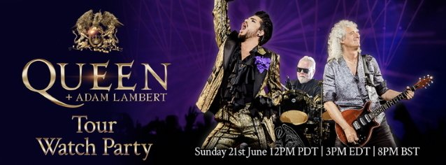 Watch Hour-Long Compilation Of Highlights From Previous QUEEN + ADAM LAMBERT Tours