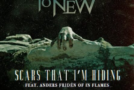 FROM ASHES TO NEW Debuts New Version Of 'Scars That I'm Hiding' Feat. IN FLAMES' ANDERS FRIDÉN
