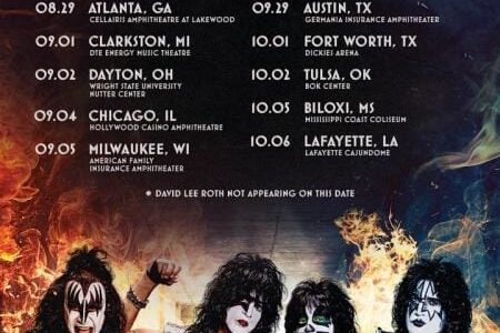 KISS Announces Summer 2021 U.S. Tour With DAVID LEE ROTH