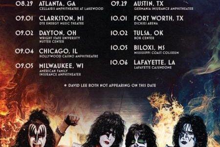 KISS Announces Summer 2021 U.S. Tour With DAVID LEE ROTH