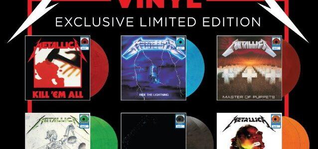 METALLICA Has Top 5 Best-Selling Vinyl Albums In U.S. This Week