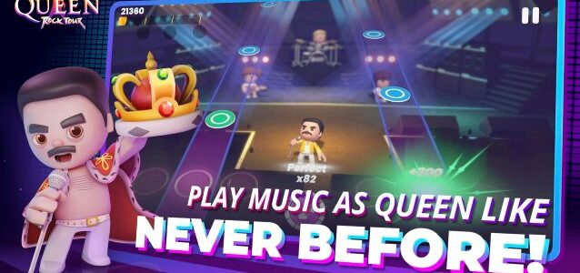 QUEEN Launches First-Ever Official Game On Mobile