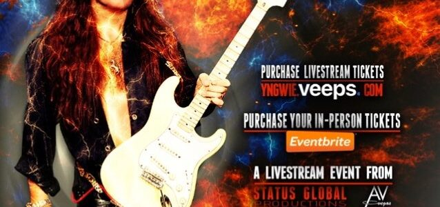 YNGWIE MALMSTEEN Announces 'Parabellum' Studio Album: 'It's Pretty Extreme,' He Says