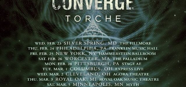 MESHUGGAH Announces 2022 U.S. Tour With CONVERGE And TORCHE