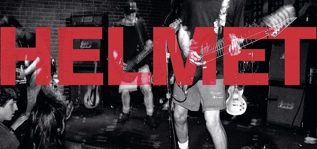 HELMET To Release First Official Live Album, 'Live And Rare'