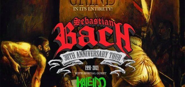Ex-SKID ROW Singer SEBASTIAN BACH Performs Entire 'Slave To The Grind' Album In Cedar Park, Texas (Video)